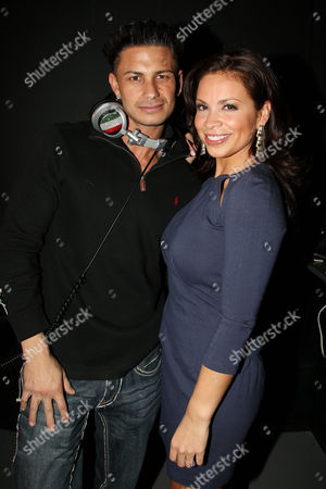 Paul DelVecchio (DJ Pauly D) and Carolina Bermudez