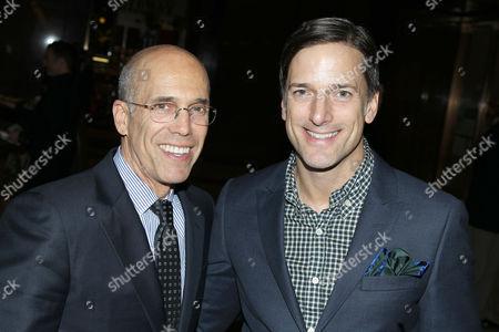 Jeffrey Katzenberg and Bill Damaschke