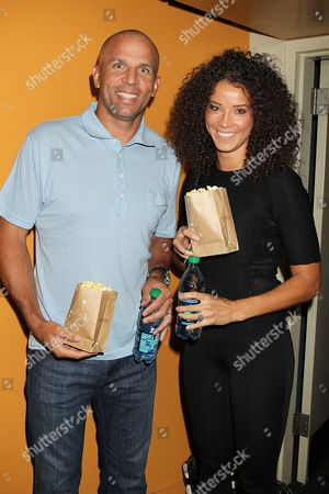 Jason Kidd and Porschla Coleman