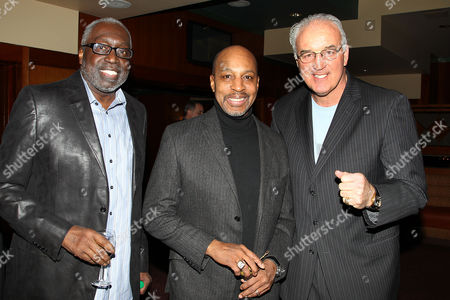 Earl Monroe, Willie Randolph and Gerry Cooney