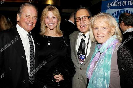 Rod Gilbert, Judy Christy, George Kalinsky and June Kalinsky