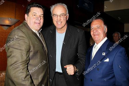 Steve Schirripa, Gerry Cooney and Tony Sirico