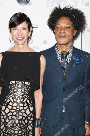 Amy Fine Collins and Ike Ude