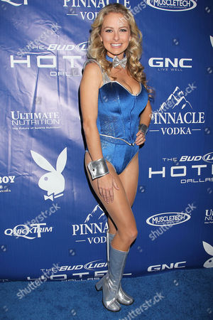 Editorial picture of Playboy Super Bowl  Party at the Bud Light Hotel, New York, America  - 04 Feb 2011