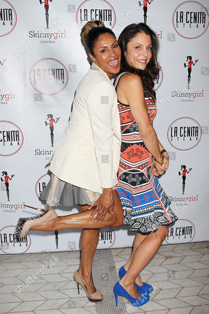 Stock Photo of Chenoa Maxwell and Bethenny Frankel