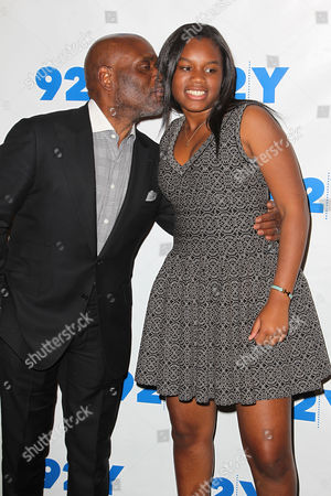 LA Reid and Arianna Manuelle