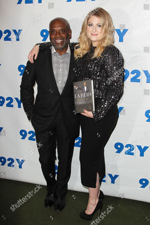LA Reid and Meghan Trainor
