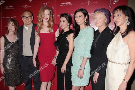 Lisa See, Wayne Wange, Nicole Kidman, Li Bingbing and Wendi Deng Murdoch
