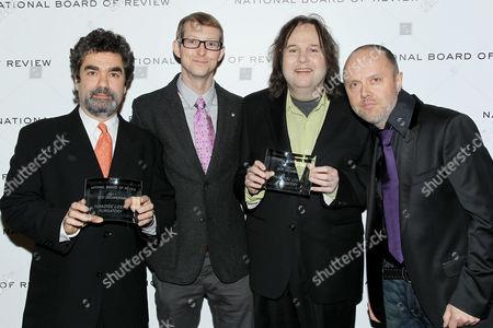 Joe Berlinger, Jason Baldwin, Bruce Sinofsky, Lars Ulrich