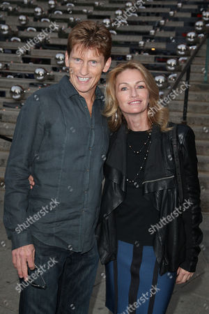 Denis Leary with wife Ann Lembeck