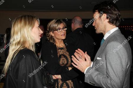 Miranda de Pencier, Ashleigh Banfield and Will Forte