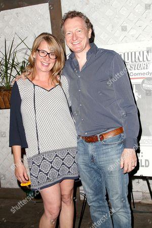Janet van de Graaf and Bob Martin