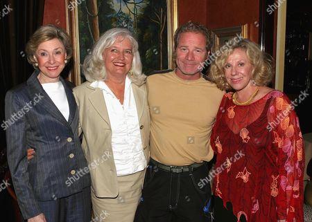 Joan Ganz Cooney, Ellen Levine, Peter Mullan and Erica Jong