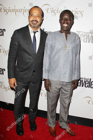 Jeffrey Wright and Okello Kelo Sam