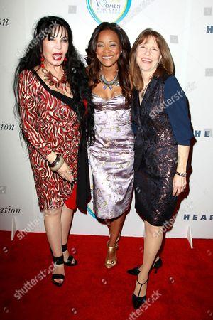 Loreen Arbus, Robin Givens and Donna Hanover