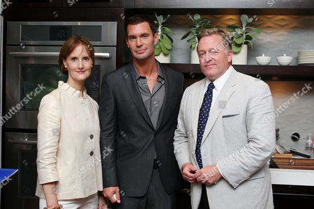 Kate Kelly Smith (House Beautiful VP/Publisher), Jeff Lewis and