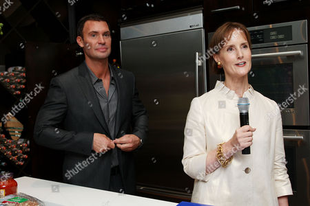 Jeff Lewis and Kate Kelly Smith (House Beautiful VP/Publisher)