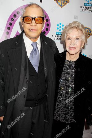 Stock Image of Michael York and Patricia McCallum
