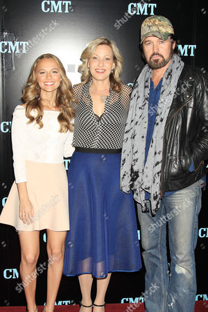 Madison Iseman, Joey Lauren Adams and Billy Ray Cyrus