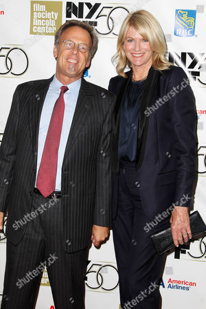 Stock Picture of Mark Johnson (Producer) with wife Lezlie Johnson