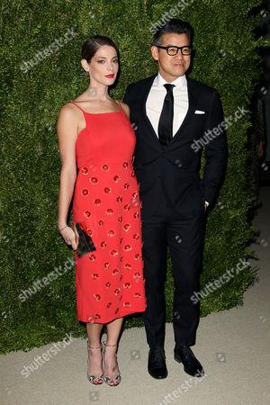 Ashley Greene and Peter Som