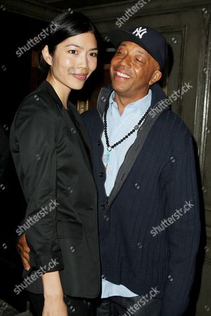 Stock Photo of Russell Simmons and Angie Hsu