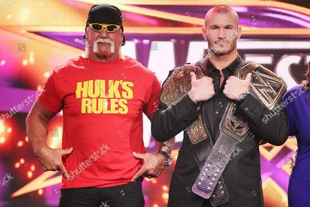 Hulk Hogan and Randy Orton