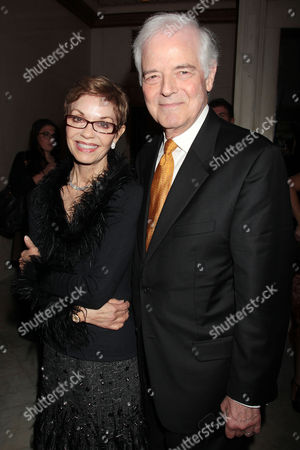 Stock Image of Nina Warren and Nick Clooney