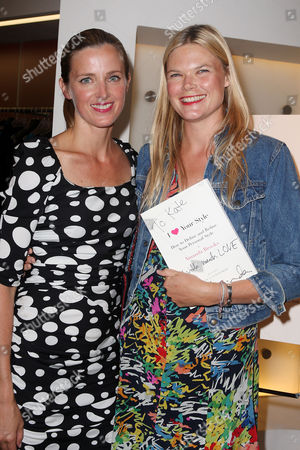 Amanda Brooks and Kate Schelter