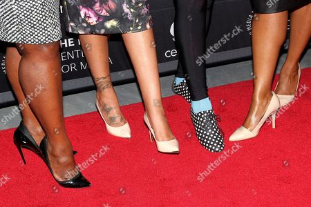 Stock Picture of Bevy Smith, Alex Martin Dean, Whoopi Goldberg, Leisa Rachal
