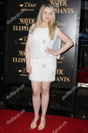 Editorial image of 'Water For Elephants' film premiere, New York, America - 17 Apr 2011