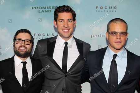 Editorial photo of 'Promised Land' film premiere, New York, America - 04 Dec 2012
