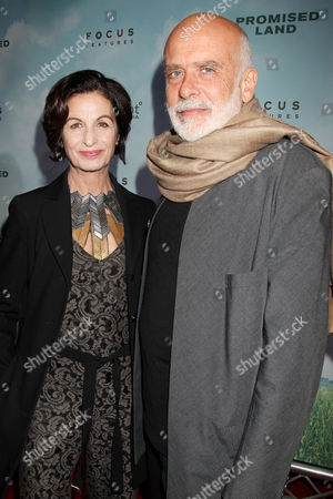 Stock Image of Alba Clemente and Francesco Clemente
