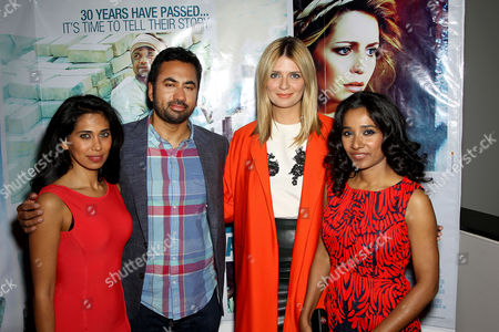 Stock Photo of Fagun Ivy Thakrar, Kal Penn, Mischa Barton, Tannishtha Chatterjee