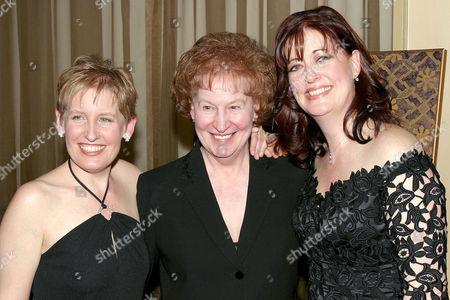 Liz Callaway with mother Shirley and Ann Hampton Callaway