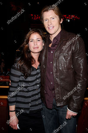 Stock Image of Maura Tierny, Denis Leary
