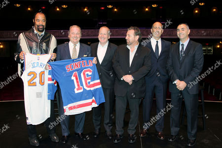 Editorial picture of Madison Square Garden Company announces Jerry Seinfeld Residency, New York, America - 01 Dec 2015