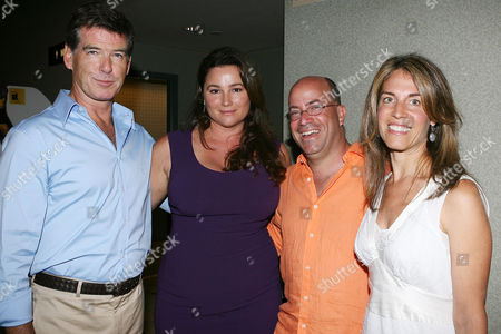 Pierce Brosnan , Keely Shaye Smith, Caryn Zucker and Jeff Zucker