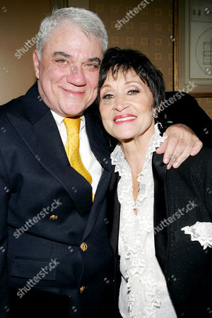 Rex Reed and Chita Rivera