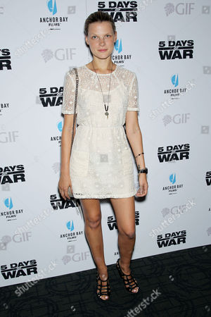 Editorial picture of 5 Days Of War premiere, New York, America - 16 Aug 2011