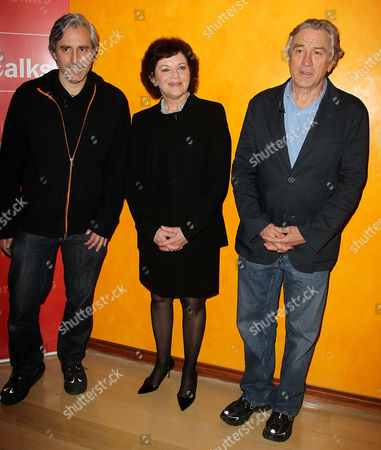Stock Image of Paul Weitz, Janet Maslin and Robert De Niro