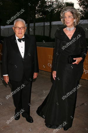 Henry Kissinger with Nancy Kissinger (wife)