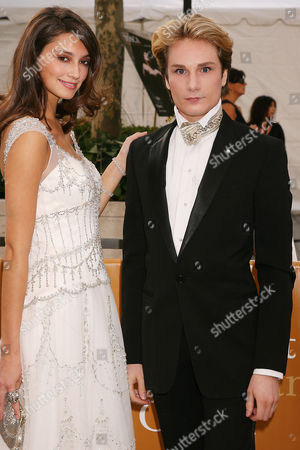 Austin Scarlett and model Anna
