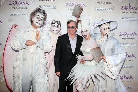 Daniel Lamarre (Pres. and CEO of Cirque du Soleil) with Zarkana