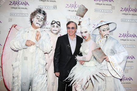 Daniel Lamarre (Pres. and CEO of Cirque du Soleil) and Zarkana