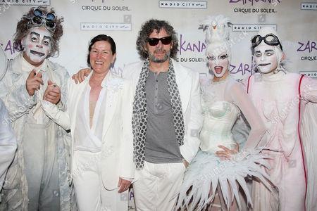 Editorial photo of 'Cirque du Soleil's ZARKANA' World Premiere, Radio City Music Hall, New York, America - 29 Jun 2011