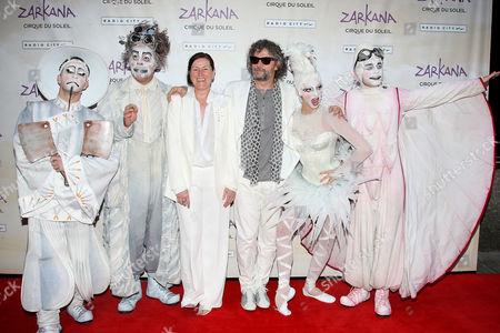 Editorial image of 'Cirque du Soleil's ZARKANA' World Premiere, Radio City Music Hall, New York, America - 29 Jun 2011