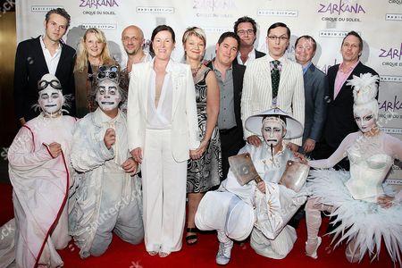Editorial picture of 'Cirque du Soleil's ZARKANA' World Premiere, Radio City Music Hall, New York, America - 29 Jun 2011