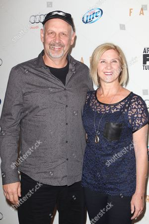 Nick Searcy and Leslie Riley