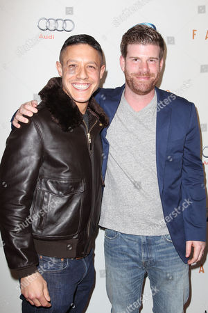 Theo Rossi and Stephen Rannazzisi